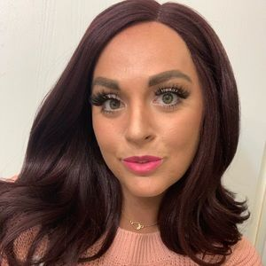 Lace front wig - black cherry Zury Sis